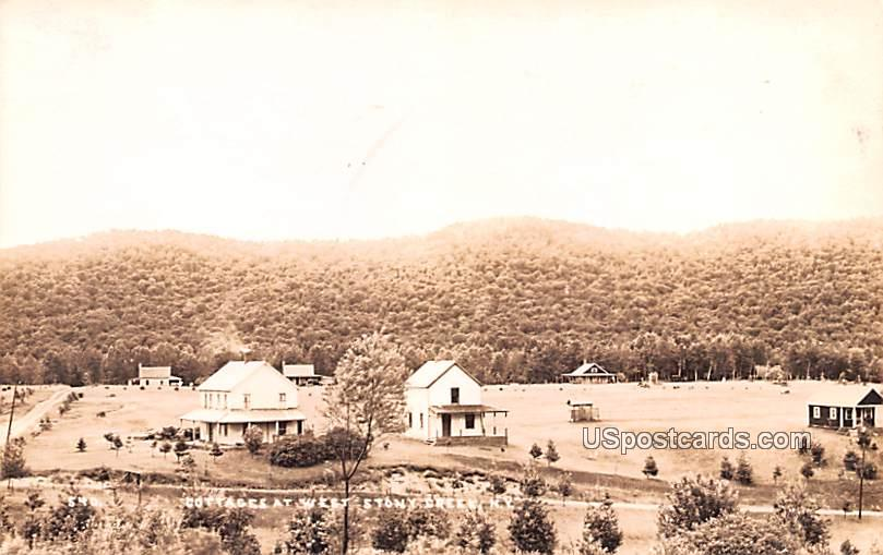 Cottages at West - Stony Greek, New York NY Postcard