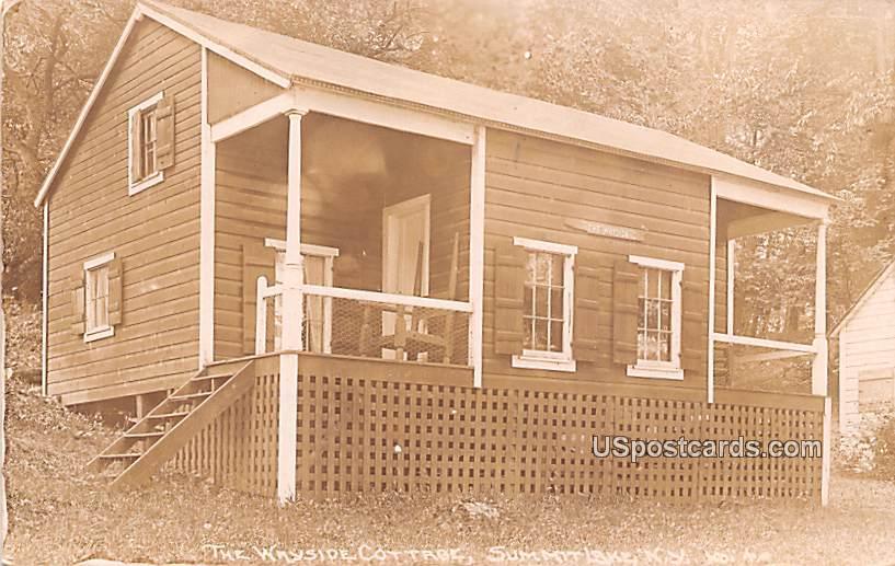 Wayside Cottage - Summit Lake, New York NY Postcard