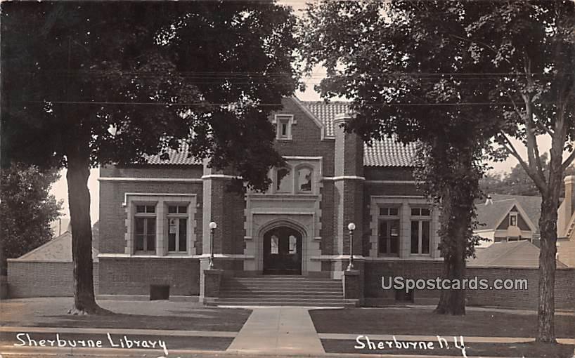 Sherburne Library - New York NY Postcard