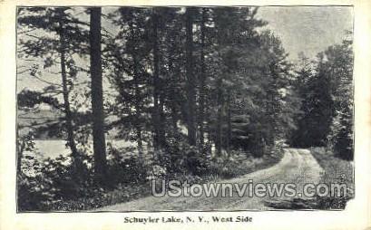 . - Schuyler Lake, New York NY Postcard
