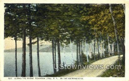 Adirondack Mtns. - Schroon Lake, New York NY Postcard