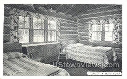 Stony Creek Dude Ranch - New York NY Postcard