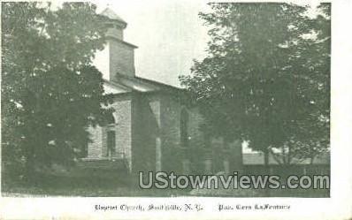 Baptist Church - Smithville, New York NY Postcard