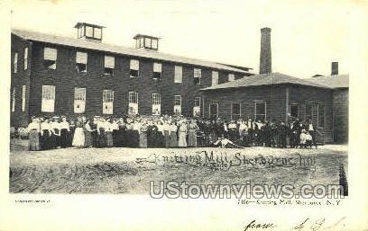 Knitting Mill - Sherburne, New York NY Postcard