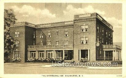 The Sherburne Inn - New York NY Postcard