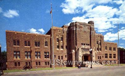 National Guard Headquarters - Schenectady, New York NY Postcard