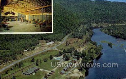 1000 Acres Ranch Resort - Stony Creek, New York NY Postcard