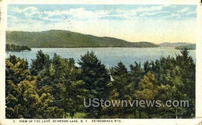 Adirondack Mountains - Schroon Lake, New York NY Postcard