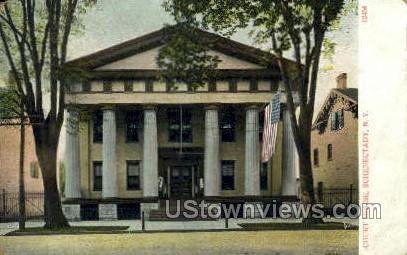Court House - Schenectady, New York NY Postcard