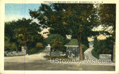 Mohawk Golf Club - Schenectady, New York NY Postcard