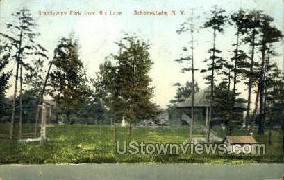Brandywine Park - Schenectady, New York NY Postcard