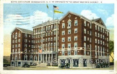 Hoel Van Curler - Schenectady, New York NY Postcard