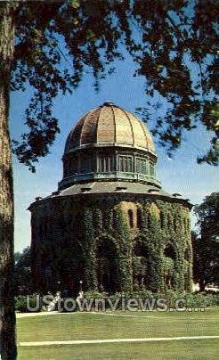 Nott Memorial Library - Schenectady, New York NY Postcard