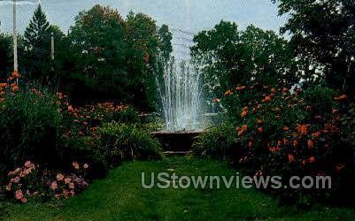 Municipal Park - Schroon Lake, New York NY Postcard