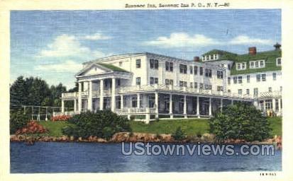Saranac Inn - Saranac Lake, New York NY Postcard