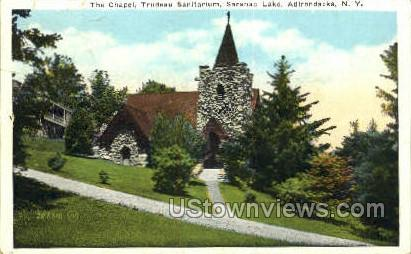 Trudeau Sanitarium - Saranac Lake, New York NY Postcard