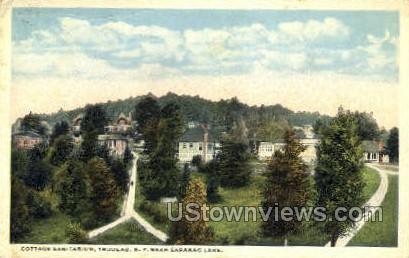 Cottage Sanitarium, Trudeau - Saranac Lake, New York NY Postcard