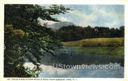 Mt. Baker - Saranac Lake, New York NY Postcard