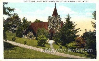 Adirondack Cottage Sanitarium - Saranac Lake, New York NY Postcard