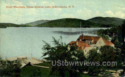 Hotel Wawbeek - Saranac Lake, New York NY Postcard
