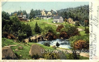 Round Lake, Adirondack Mtns. - Saranac Lake, New York NY Postcard