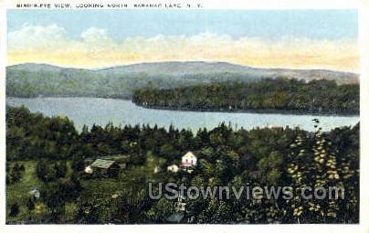 Saranac Lake, New York, NY Postcard