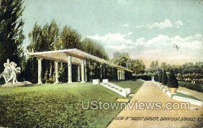 Yaddo Rose Garden - Saratoga Springs, New York NY Postcard