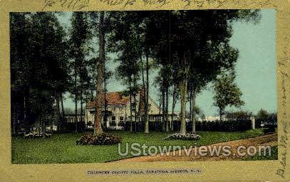 Chauncey Olcott Villa - Saratoga Springs, New York NY Postcard