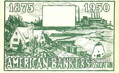 American Bankers Assoc. - Saratoga Springs, New York NY Postcard