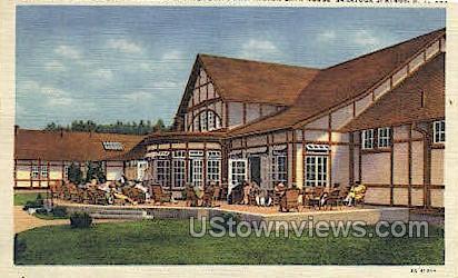 Washington Bath House - Saratoga Springs, New York NY Postcard