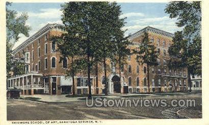Skidmore School of Art - Saratoga Springs, New York NY Postcard