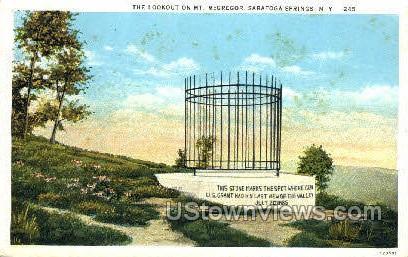 Mt. McGregor - Saratoga Springs, New York NY Postcard