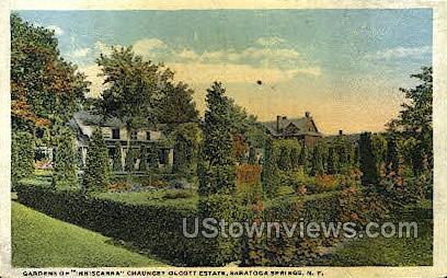 Chauncey Olcott Estate - Saratoga Springs, New York NY Postcard