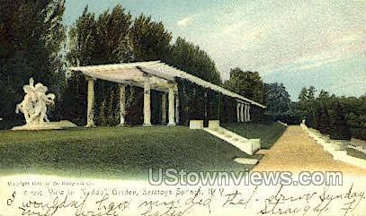 Yaddo Garden - Saratoga Springs, New York NY Postcard