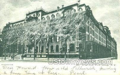 United States Hotel - Saratoga Springs, New York NY Postcard