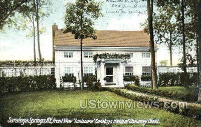 Inniscara Saratoga Home - Saratoga Springs, New York NY Postcard