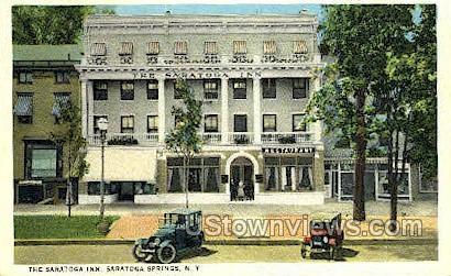 The Saratoga Inn - Saratoga Springs, New York NY Postcard