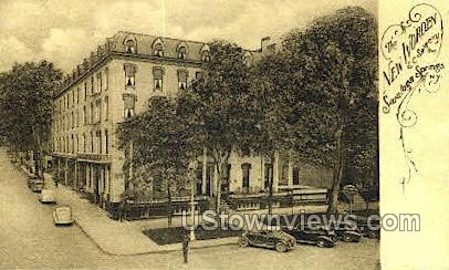 New Worden & C. Sweeny - Saratoga Springs, New York NY Postcard