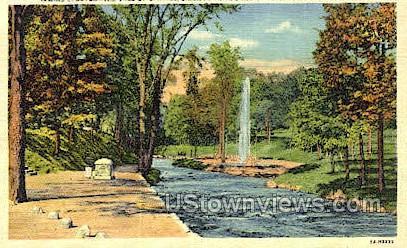 Saratoga Spa - Saratoga Springs, New York NY Postcard