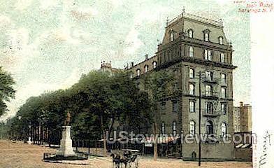 Congress Hall Hotel - Saratoga Springs, New York NY Postcard