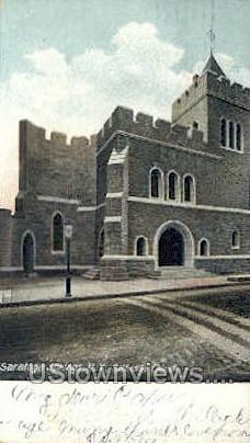 Bethesda Church - Saratoga Springs, New York NY Postcard