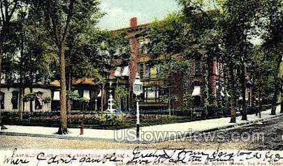 Canfield's Club House - Saratoga Springs, New York NY Postcard
