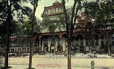 Grand Union Hotel - Saratoga Springs, New York NY Postcard