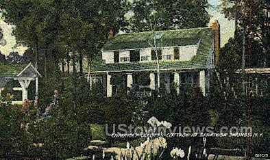 Chauncey Olcott's Cottage - Saratoga Springs, New York NY Postcard