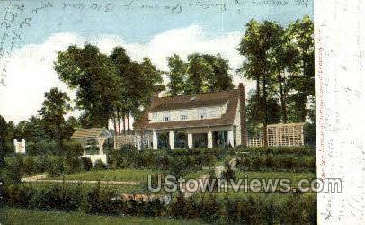 Inniscarra Saratoga Home - Saratoga Springs, New York NY Postcard