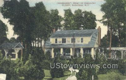 Inniscarra Home of Chauncey Olcott - Saratoga Springs, New York NY Postcard