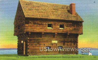 Saratoga Battlefield - Saratoga Springs, New York NY Postcard