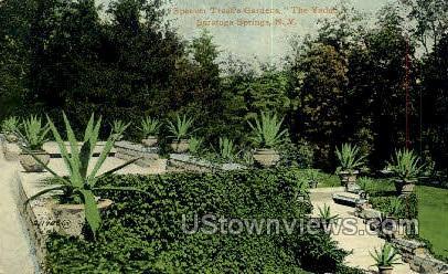Spencer Trask's Gardens - Saratoga Springs, New York NY Postcard