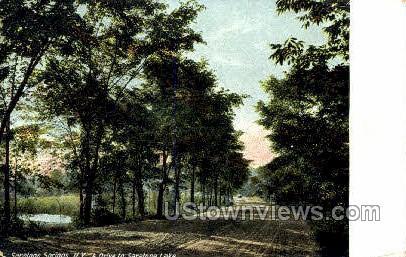 Saratoga Lake - Saratoga Springs, New York NY Postcard