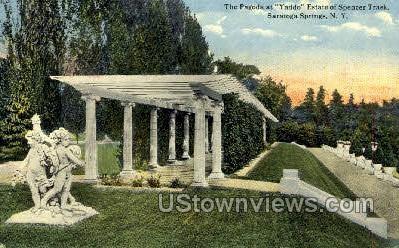 Yaddo Estate of Spencer Trask - Saratoga Springs, New York NY Postcard